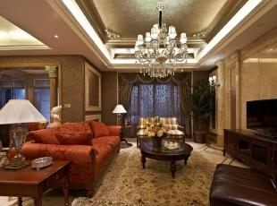 ,156平,30万,欧式,一居,客厅,黄色,