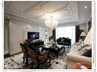 ,156平,30万,欧式,一居,客厅,白色,