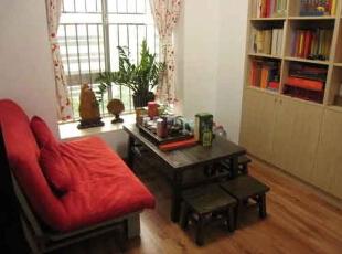 清新两居-上海88平米浪漫清新,很实用的设计