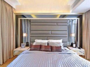 哇哇哇~~~有没有想立即扑上去好好的睡一觉的冲动。,210平,欧式,复式,卧室,白色,