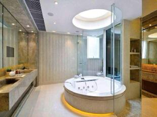一直梦想着有个大浴缸,倒上一杯红酒、放点一段带感觉的音乐,泡在满满的跑泡沫中,享受难得的宁静,210平,欧式,复式,白色,卫生间,