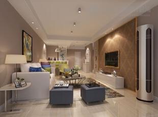 【餐厅】本户型的流线较为简单、实用,客厅、餐厅、过道空间形成独立而完整的空间,空间功能分布合理!,95平,6万,现代,两居,