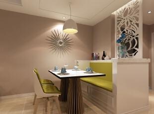【客厅】本户型的流线较为简单、实用,客厅、餐厅、过道空间形成独立而完整的空间,空间功能分布合理!,95平,6万,现代,两居,