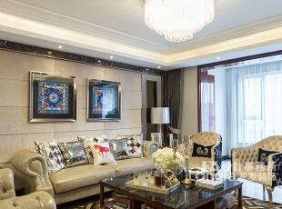 ,156平,15万,现代,三居,客厅,白色,小资,黑白,原木色,