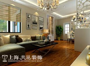郑州升龙城89平三室两厅简欧风格装修案例——客厅装修效果图,89平,6万,欧式,三居,客厅,黄白,