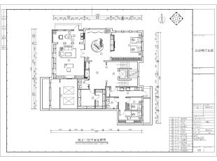 地下一层是与地上两层的补充,活动区、钢琴区、客房、储物间、设备间全部分布在地下一层的空间,补充了地上两层欠缺的功能。同时针对地下一层的功能性特点,地下一层的色调更深一层,黑色较多分布在这一层空间。,500平,100万,清新,别墅,