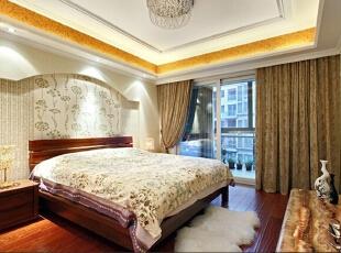 ,160平,25万,欧式,三居,卧室,黄白,