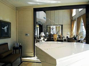 低调奢华,是一种生活态度,一种具有高贵品质的优越品位的生活方式,一种优质生活的表达,一种格调与品位的象征,同时也是一种风格的追求。,235平,235万,现代,别墅,客厅,白色,