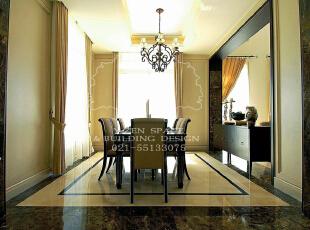 低调奢华,是一种生活态度,一种具有高贵品质的优越品位的生活方式,一种优质生活的表达,一种格调与品位的象征,同时也是一种风格的追求。,235平,235万,现代,别墅,餐厅,褐色,黄色,