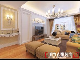 ,125平,8万,现代,三居,客厅,棕色,白色,