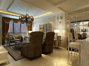 ,162.0平,110800.0万,欧式,四居,客厅,黄白,
