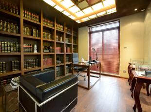 ,300平,60万,现代,一居,书房,原木色,