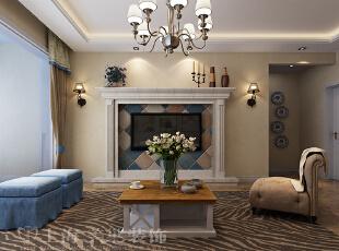 怡丰森林湖105平三室两厅现代简约案例装修效果图——电视背景墙,105平,14万,简约,三居,客厅,黄白,