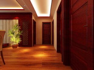 ,128平,12万,中式,三居,客厅,原木色,