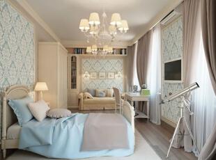 奢华与简约的平衡 温婉欧式公寓