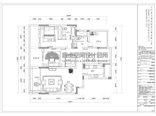 平面布置图,实用型三居室,有独立客餐厅,121平,8万,欧式,三居,