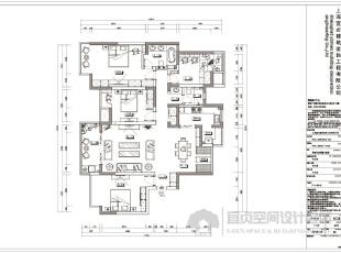 平面布置图,有主卧、客卧、儿童房、书房的实用设计,来满足主人的需要!,180平,15万,混搭,四居,