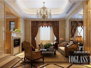 ,600平,72万,新古典,别墅,客厅,