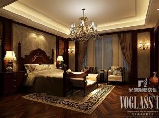 ,600平,72万,新古典,别墅,卧室,