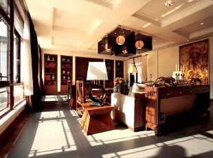 中式别墅-古城区的私家别墅
