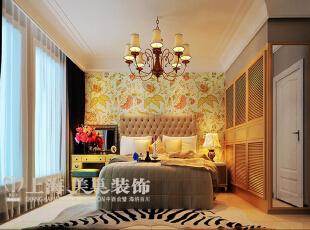 海马公园113平现代简约装修三室两厅样板间案例——卧室效果图,113.0平,7.0万,现代,三居,