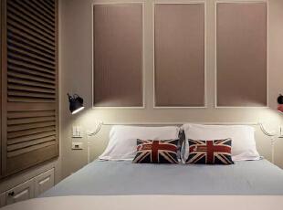 【龙发装饰】英式北欧风格的装修卧室效果图,80平,4万,欧式,两居,卧室,邯郸龙发,龙发装饰,暖色,