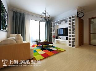 升龙城88平方两室两厅装修效果图---客厅现代简约风格装修效果图,88平,56万,现代,两居,客厅,