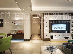 橄榄城伍号院90平两室两厅现代简约装修案例-国道,90平,4万,现代,两居,客厅,餐厅,简约,黑白,