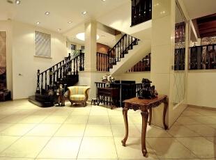 ,客厅,棕色,黄白,