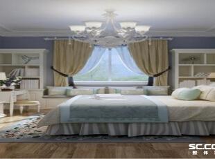 ,95平,10万,现代,两居,卧室,紫色,白色,
