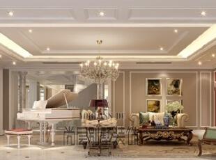 美式新古典风格开始于19世纪晚期并延续到现在。既简约大气,又集各地区精华于一身的独特风格,充分体现了简洁大方、轻松的特点,居住非常具有人性化。具有注重生活细节、古典情怀,融合多种风情于一体的特点。,700平,400万,新古典,别墅,