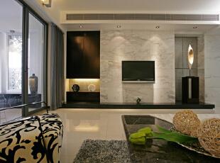,220平,28万,现代,四居,客厅,棕色,白色,