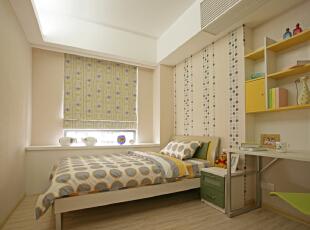 ,220平,28万,现代,四居,卧室,暖色,白色,
