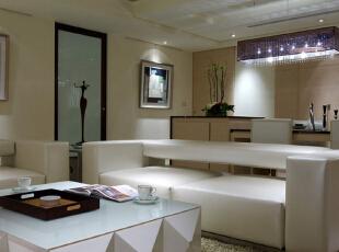 ,150平,19万,现代,三居,餐厅,浅棕色,白色,