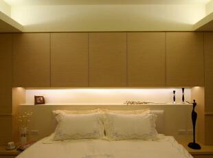 ,150平,19万,现代,三居,卧室,棕色,白色,