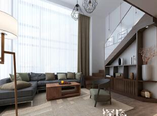 ,160平,35万,日式,三居,客厅,深棕色,白色,