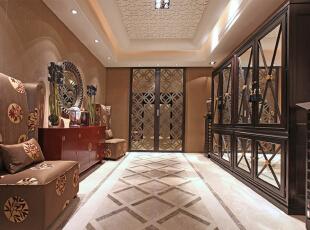 ,160平,30万,混搭,大户型,休闲室,原木色,白色,