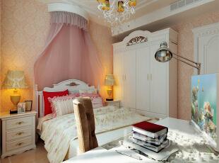 ,257平,15万,新古典,四居,卧室,原木色,粉色,