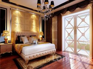 ,257平,15万,新古典,四居,卧室,原木色,黄色,