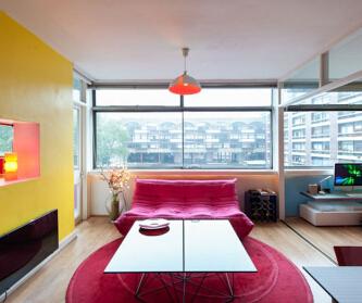 小户型公寓——彩色系个性...