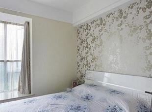 ,140平,12万,现代,三居,卧室,白色,