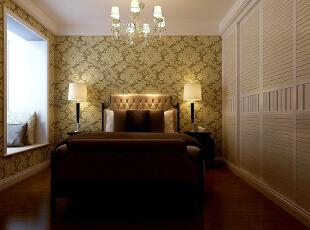 ,120平,7万,现代,三居,卧室,春色,白色,
