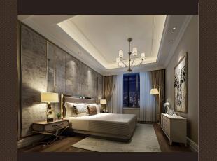 ,400平,60万,混搭,四居,卧室,棕色,白色,