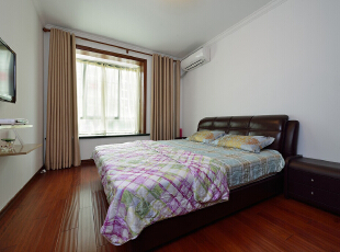 ,150平,20万,现代,三居,卧室,白色,