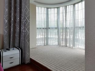 ,150平,20万,三居,现代,阳台,白色,