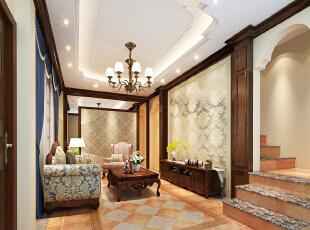 ,150平,25万,欧式,三居,客厅,褐色,黄白,