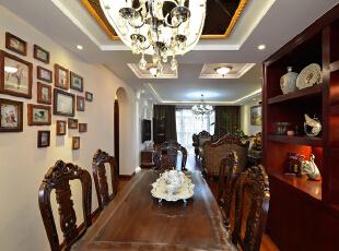 ,120平,30万,欧式,两居,餐厅,原木色,白色,