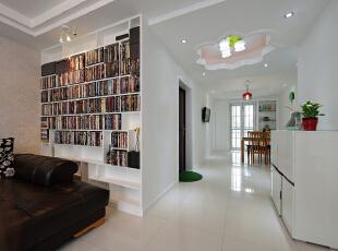 ,120平,18万,现代,三居,客厅,白色,