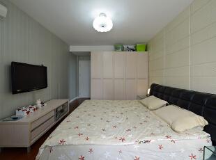,120平,18万,现代,三居,卧室,黄白,