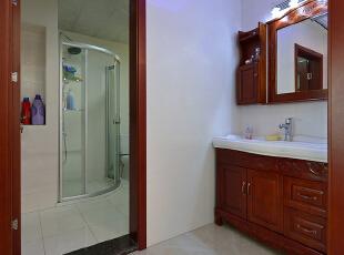 ,160平,38万,现代,复式,卫生间,红木色,白色,